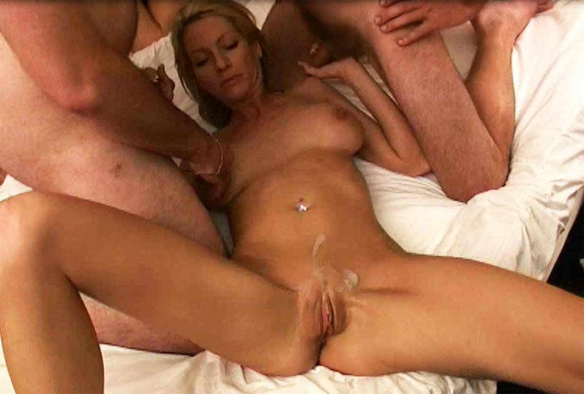 Slut Wife Gangbang Blonde