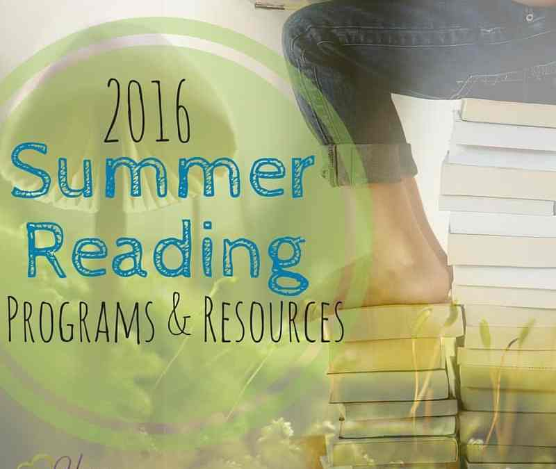 Summer Reading Programs 2016