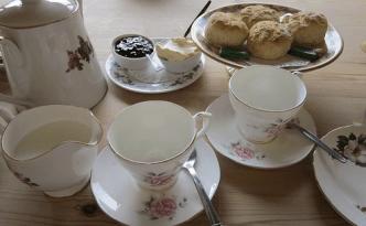 Cream Tea Chiddingstone Caste