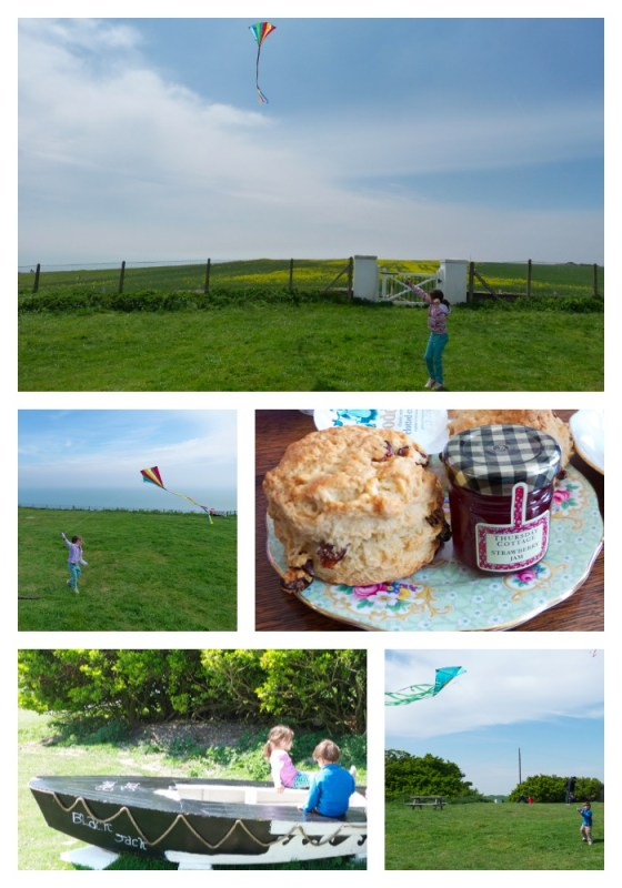 Flying Kites Collage