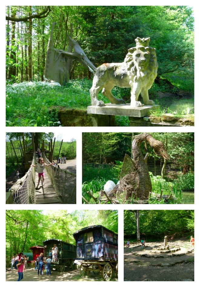 Groombridge Enchanted Forest Collage