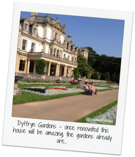 Dyffryn gardens wales