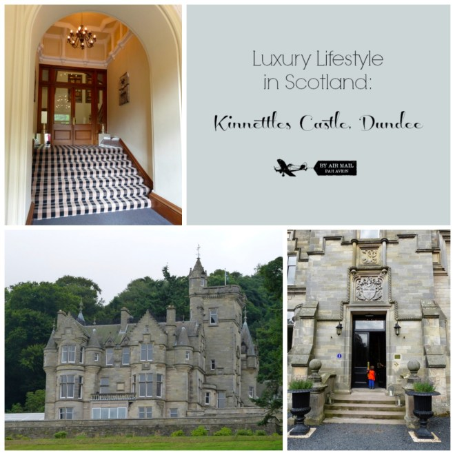 Kinnettles Castle Collage