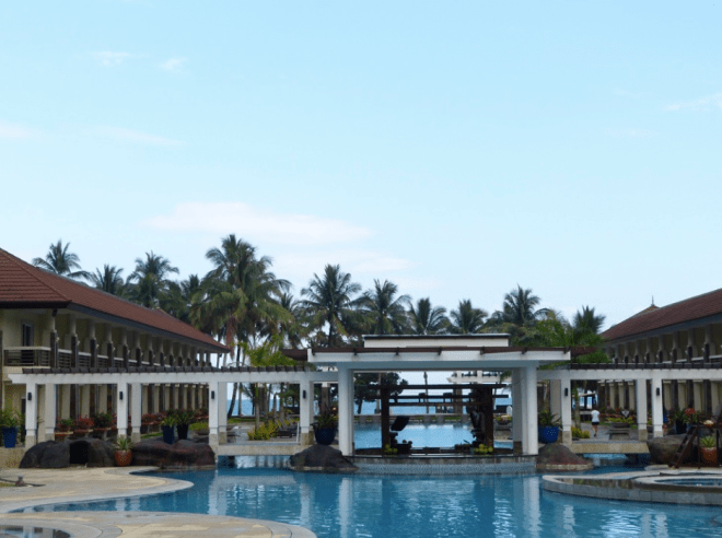 Sheridan beach resort and spa in Palawan