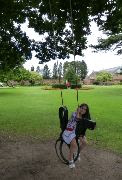 Tredeger House garden fun