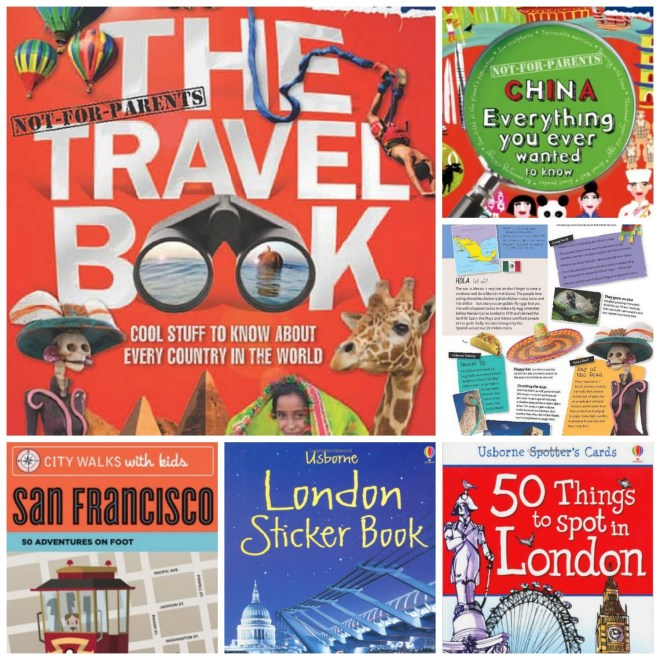 kids travel gifts Collage