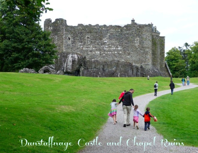 Dunstaffnage Castle ruins