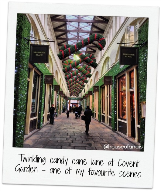 Candy cane lane Covent Garden