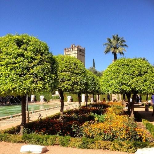 Gardens of Cordoba Alcazar