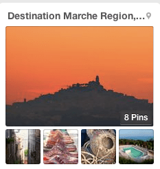 Destination Marche Region in Italy - pinboard on PInterest
