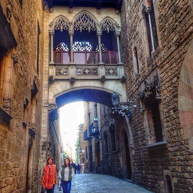 Barcelona in December 1
