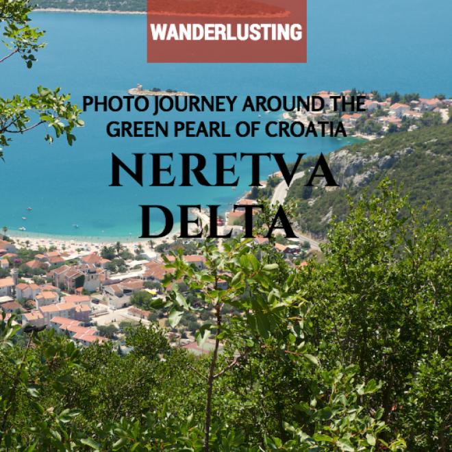 Neretva Delta in Croatia