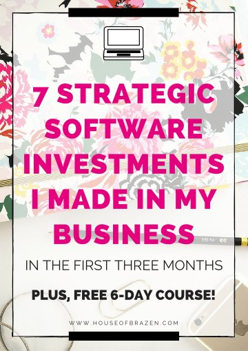 7 Strategic Software Investments I Made in My Business