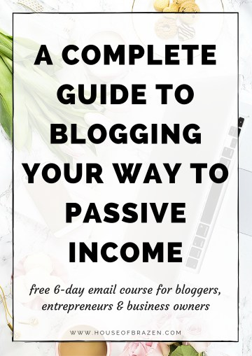 A Complete Guide to Blogging Your Way to Passive Income Online