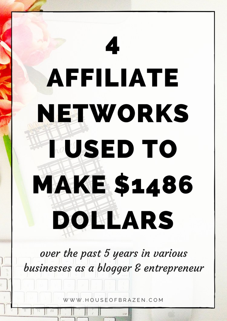 4 Affiliate Networks for Bloggers