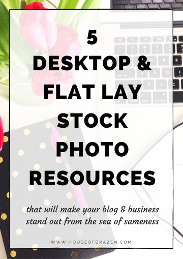 5 Desktop & Flat Lay Photography Resources for Bloggers