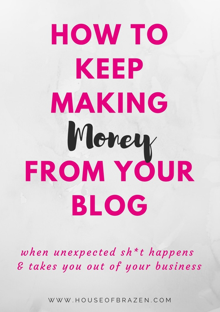 How to Keep Making Money From Your Blog