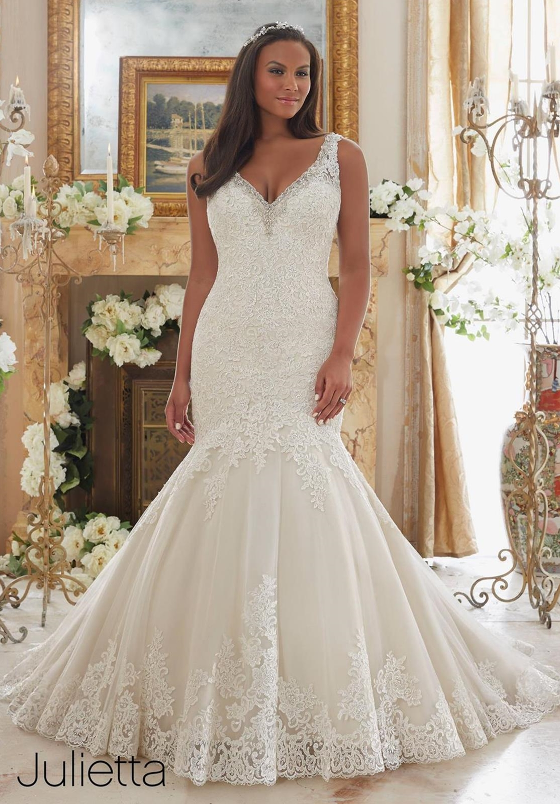 c mermaid style wedding dresses wedding dresses mermaid style Julietta