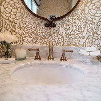 A POWDER ROOM MAKE-OVER WITH LOWE'S