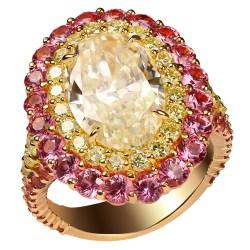 Small Of Yellow Diamond Rings