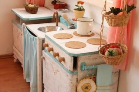 10 diy play kitchen ideas | housing a forest