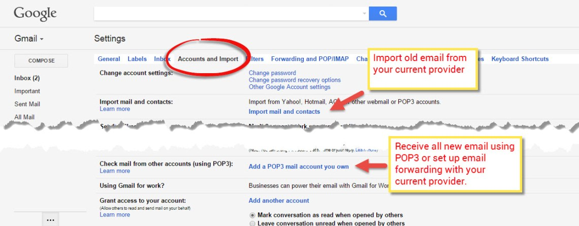 GOOGLE USER TIP: MAKE THE MOVE TO GMAIL