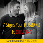 signs your husband is cheating