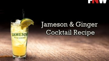 Jameson & Ginger Cocktail Recipe