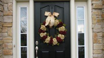 door decorating ideas christmas