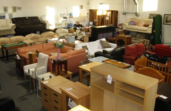 Remodel your home on a budget for Furniture charity shops