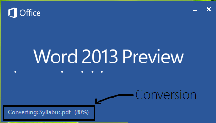 convert pdf in ms word format
