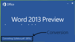 convert pdf in ms word format