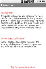 grammar guide app