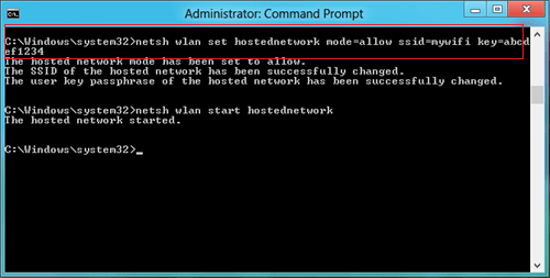windows 8 wifi settings command