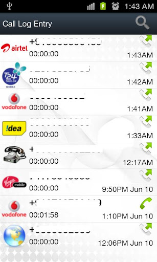 android call log app