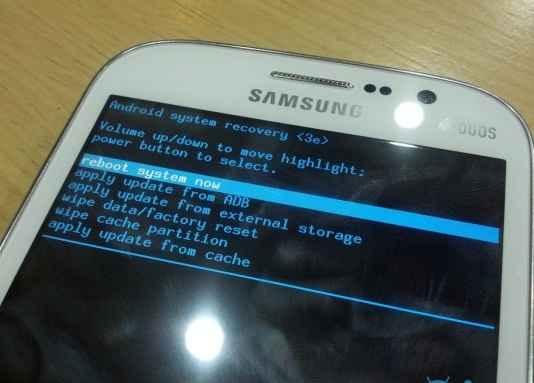 galaxy grand i9082 recovery mode