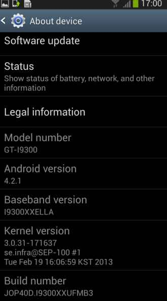android samsung galaxy s3