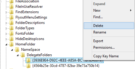 how to delete recent files windows 10