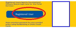 lic registered user link
