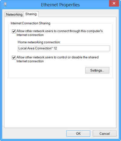 network connection image