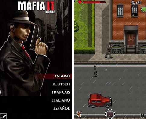 nokia asha phone game mafia-ii