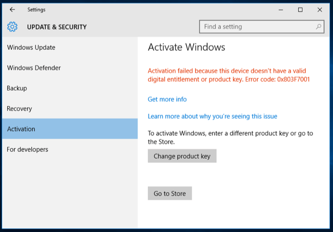 You dont need a product key to install and use windows 10 in the store you can purchase an official windows license that will activate your pc the home version of windows 10 costs 120 while the pro version ccuart Images