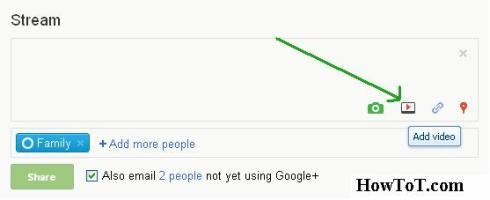 google plus video upload