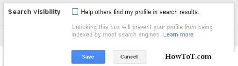 search visibility google plus save