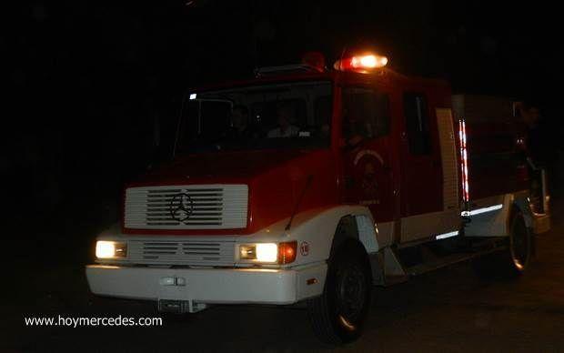 Se incendió una vivienda en la localidad de Agote