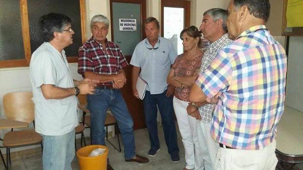 Concejales de Cambiemos visitaron el Hospital Dubarry