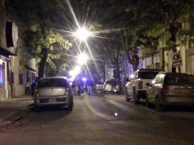 Gresca en la madrugada con rápida intervención policial
