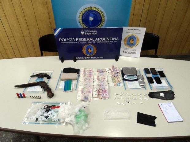 Policía Federal Mercedes actúa en procedimiento anti drogas