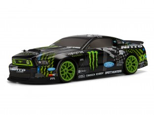 #111664 - E10 Drift Vaughn Gittin Jr. Monster Energy Nitto Tire Ford Mustang RTR