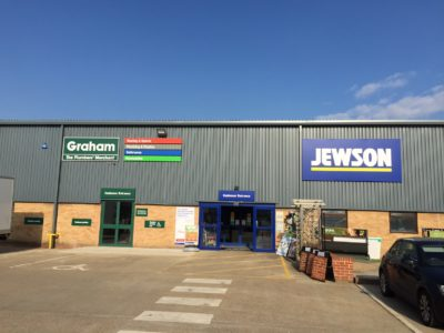 Graham Plumbers' Merchant has opened more sites, including ones shared with Jewson.